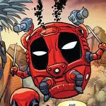 Wade Wilson (Earth-Unknown) from Deadpool Kills Deadpool Vol 1 3 0001