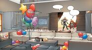 Wiccan and Hulkling's Apartment from New Avengers Vol 4 18 001