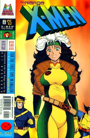 X-Men The Manga Vol 1 25