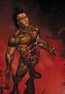 Dark Wolverine Vol 1 76 Choi Textless Variant