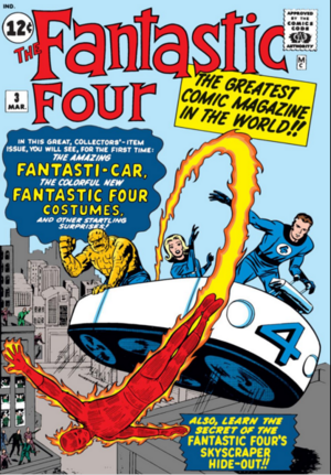 Fantastic Four Vol 1 3
