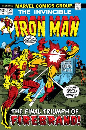 Iron Man Vol 1 59