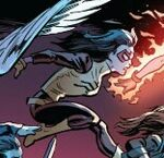 Jessica Drew (Prime) (Earth-61610) from Ultimate End Vol 1 1 001