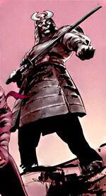 Keniuchio Harada (Earth-10245) from What If Daredevil Vs. Elektra Vol 1 1 0001