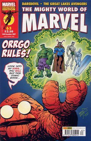 Mighty World of Marvel Vol 3 63