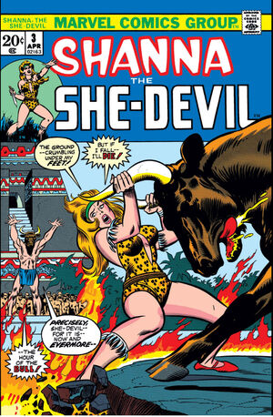 Shanna, The She-Devil Vol 1 3