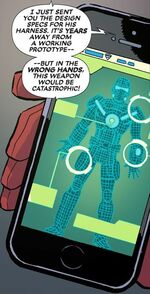 Split Second Temporal Dislocation Harness from Deadpool & Cable Split Second Infinite Comic Vol 1 1 002