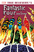 True Believers Fantastic Four by John Byrne Vol 1 1