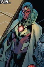 Vision (Earth-61610) from Ultimate End Vol 1 3 001
