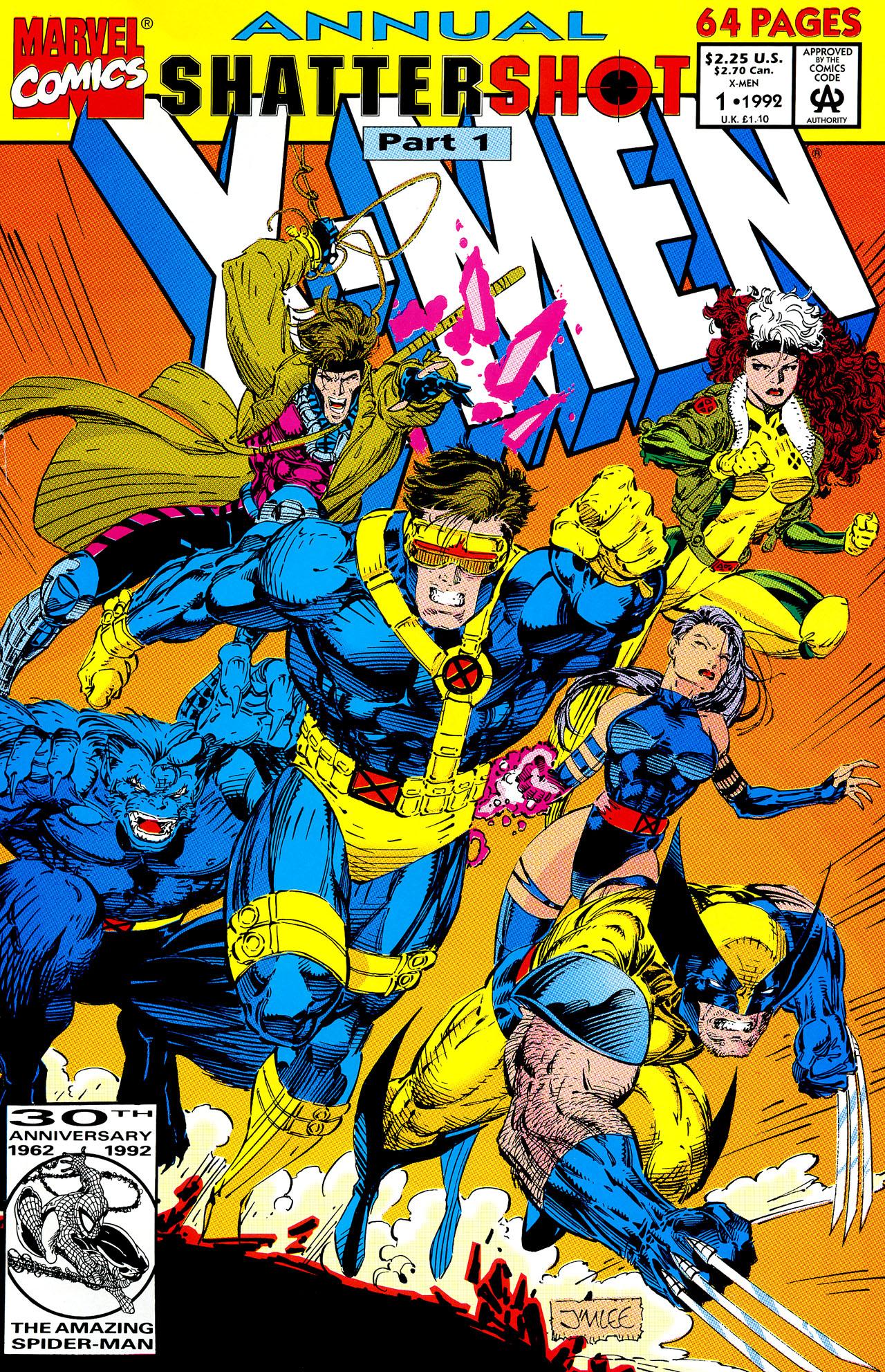 X-Men Annual Vol 2 1
