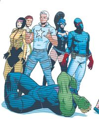 Young Avengers (Constructs) (Earth-616) from Young Avengers Vol 2 11 001