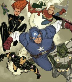 Avengers (Earth-14923) from Uncanny X-Men Vol 3 26 001