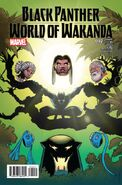 Black Panther World of Wakanda Vol 1 2 von Eeden Variant