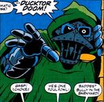 Ducktor Doom (Earth-9047) from What The-- Vol 1 18