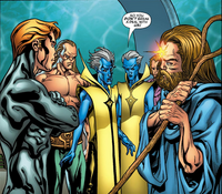 En Dwi Gast (Earth-1815) and Elders of the Universe (Earth-33629) from Exiles Annual Vol 1 1 001