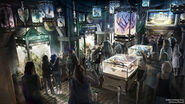 Guardians of the Galaxy - Mission BREAKOUT! (attraction) Concept Art 002