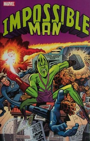 Impossibl Man TPB Vol 1 1
