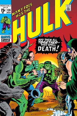 Incredible Hulk Vol 1 139