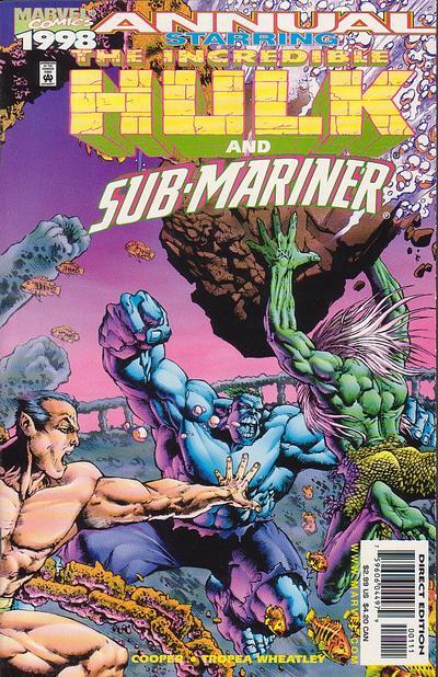 Incredible Hulk and Sub-Mariner Annual Vol 1 1998