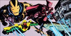 Iron Avengers (Earth-9997) from Earth X Vol 1 1 0001