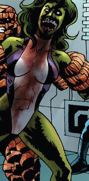 Jennifer Walters (Earth-2149) from Marvel Zombies - Dead Days Vol 1 1 0001