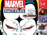 Marvel Fact Files Vol 1 54