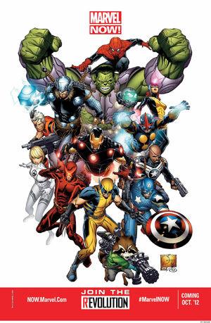 Marvel NOW! promo