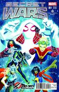 Secret Wars Vol 1 1 Space Cadets Variant