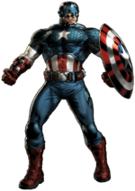 Steven Rogers (Earth-12131) from Marvel Avengers Alliance 009