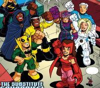 Substitute Squaddies (Earth-11911) from Super Hero Squad Spectacular Vol 1 1 0001