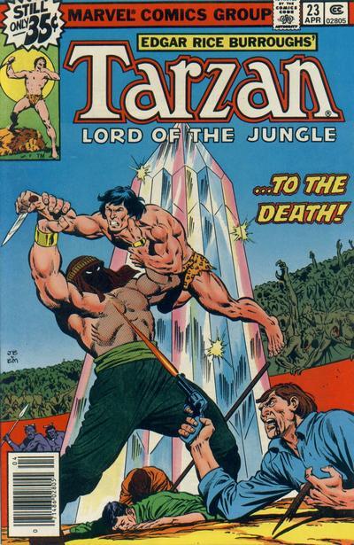 Tarzan Of The Apes A Marvel Super Special Vol 1 #29 Edgar Rice Burroughs 1983
