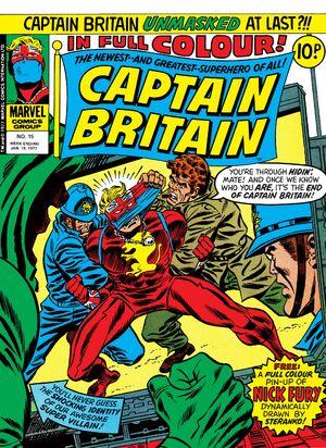 Captain Britain Vol 1 15