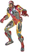 Iron Man Armor Model 4 from Marvel Fact Files