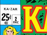 Ka-Zar Vol 1 2
