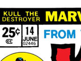 Kull the Destroyer Vol 1 14