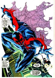 Miguel O'Hara (Earth-928) from Spider-Man 2099 Vol 1 3 001