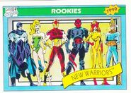 New Warriors (Earth-616) from Marvel Universe Cards Series I 0001