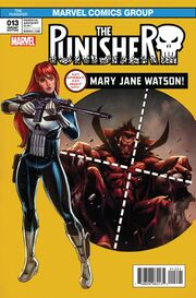 Punisher Vol 11 13 Mary Jane Variant