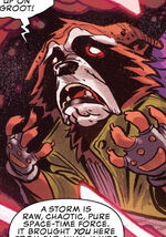 Rocket Raccoon (Earth-Unknown) from I am Groot Vol 1 4 0001