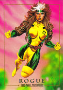 Rogue (Anna Marie) (Earth-616) from Marvel Masterpieces Trading Cards 1992 0001
