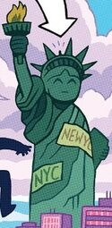 Statue of Liberty from Amazing Spider-Man Vol 5 25 001