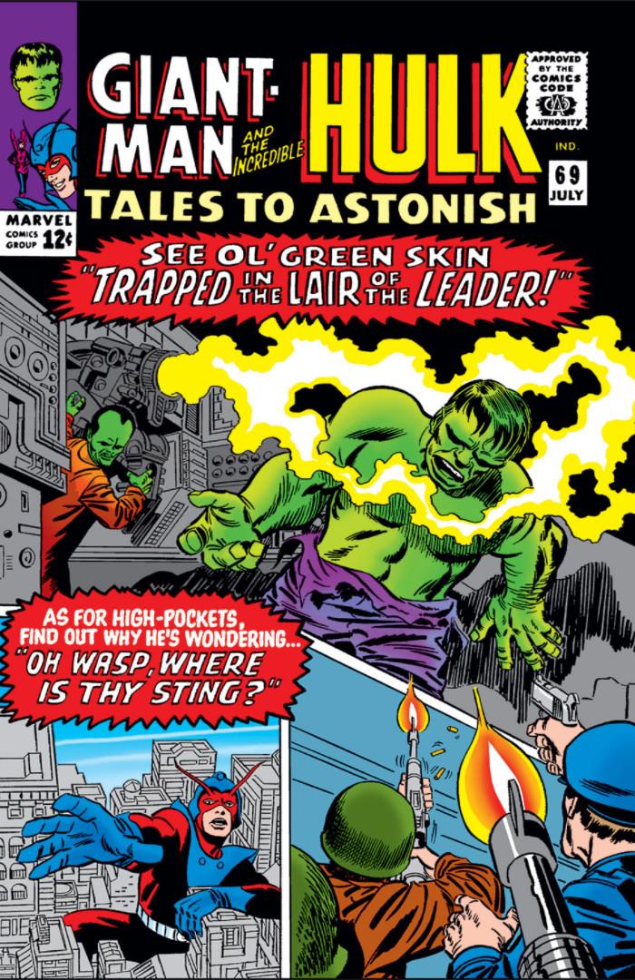 Tales to Astonish Vol 1 69