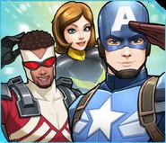 Team Cap (Earth-TRN562) from Marvel Avengers Academy 001