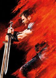 Thor Ragnarok poster 006 textless