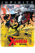 Wolverine and the X-Men Annual Vol 1 1 Textless