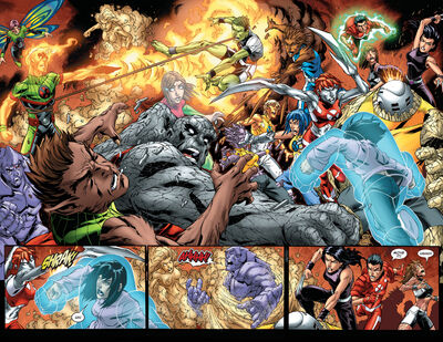 X-Men Training Squads (Earth-616) from New X-Men Vol 2 23 0001