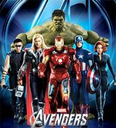 Avengers (Earth-199999) from Collectible Ticket