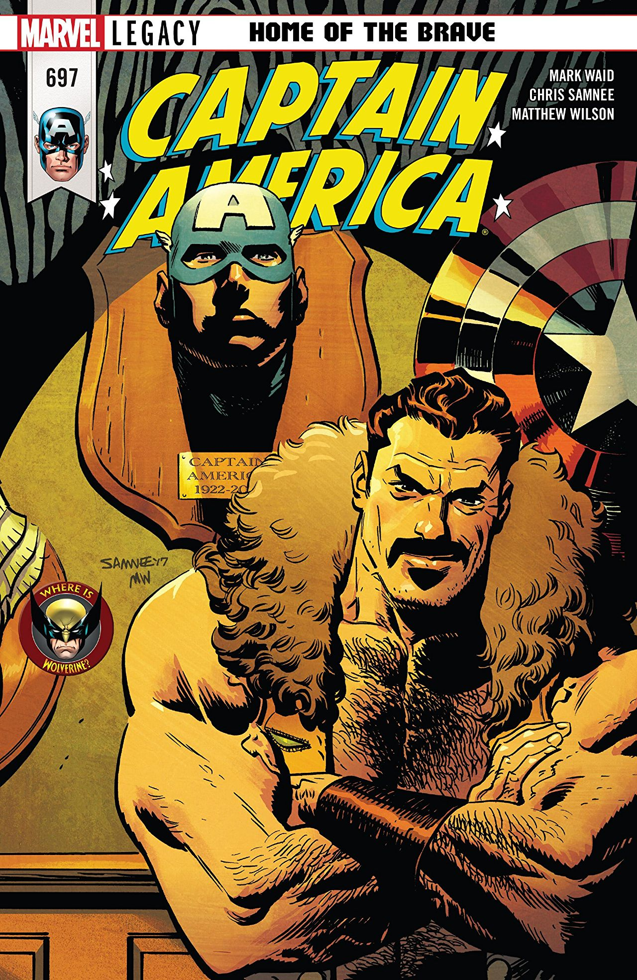 Captain America Vol 1 697. Captain America Vol 1 697