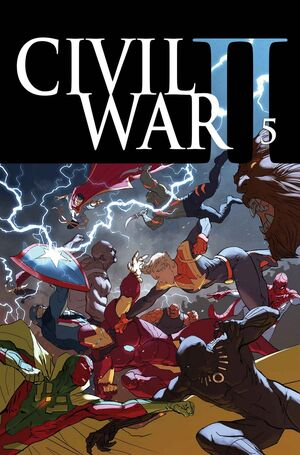 Civil War II Vol 1 5 Textless
