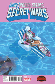 Deadpool's Secret Secret Wars Vol 1 2 Gwen Variant